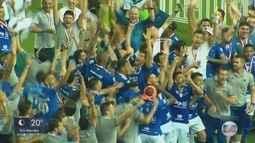Cruzeiro empata com o Atlético-MG e é bi-campeão mineiro