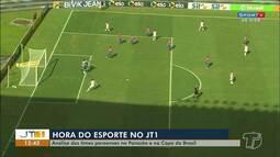 'Esporte no JT1': principais lances da Copa do Brasil e final do Campeonato Paraense