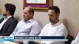 Reunião do Idene é realizada em Governador Valadares