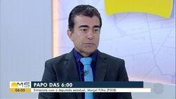 Deputado estadual Marçal Filho (PSDB) é o entrevistado do Papo das 6, desta quinta-feira
