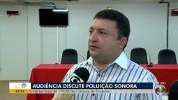 Audiência pública debate problemas de poluição sonora em Presidente Prudente