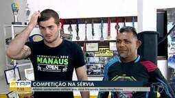 Atletas santarenos disputam competição de MMA e chegam da Sérvia trazendo bons resultados