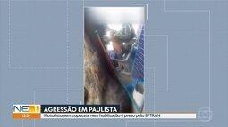 Vídeo mostra policiais militares agredindo motorista em Paulista, no Grande Recife