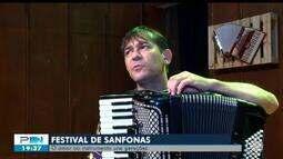 Festival de Sanfonas acontece em Teresina