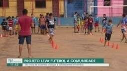 Fala Comunidade: Árbitro de futebol cria projeto para ajudar jovens no bairro Zumbi