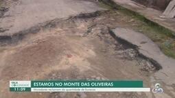 Fala Comunidade: Telespectador denuncia falta de asfalto em rua no Monte das Oliveiras