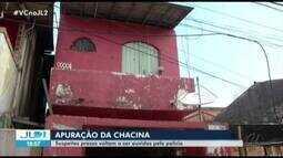 Policia ouve depoimentos de suspeitos de participar da Chacina do Guamá.