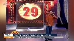Conheça o potiguar que participou do quadro 'Se vira nos 30' do Faustão cantando inglês
