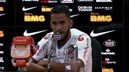Veja a entrevista de apresentação de Everaldo, reforço do Corinthians