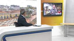 Repórter Guilherme Barbosa fala sobre a 1ª noite do arraial no bairro Cohab do Bosque