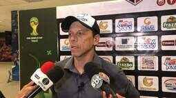 Técnico do Santa Cruz de Natal lamenta derrota para o Bragantino-PA