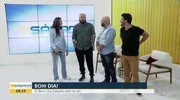 """BDS recebe a visita de Paulinho Serra e Max Magalhães, do grupo """"Palavas Improvisadas"""""""