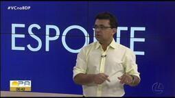 Carlos Ferreira comenta os destaques do esporte paraense nesta quinta-feira (13)