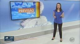 Confira a previsão do tempo para este fim de semana na região de Ribeirão Preto