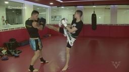 Filho do Fabio Costa, ex-goleiro do Santos, é campeão paulista de Kickboxing