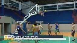 Com seis árbitros oficiais, Federação Amapaense de Basquete oferta curso de arbitragem