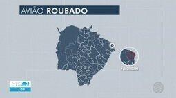 Avião é roubado e piloto sequestrado em aeroporto de Paranaíba
