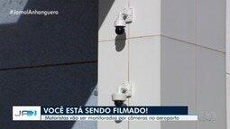 SMT incicia monitoramento por câmeras no Aeroporto de Goiânia