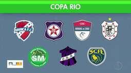 Copa Rio começa nesta quarta-feira com vários times do interior do Rio