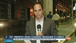 TRF4 determina volta de Gean Loureiro ao cargo de prefeito de Florianópolis