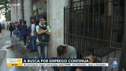 Simm oferece 140 vagas para esta quarta (26) em Salvador