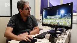 """Físico explica lance da bola """"quicando no ar"""" em jogo da Chapecoense"""
