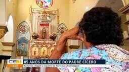 Romeiros chegam a Juazeiro do Norte para homenagem de 85 anos da morte do Padre Cícero