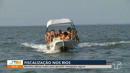 Capitania fluvial de Santarém intensifica ações para garantir viagens sejam seguras