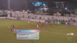 No Brasileiro Feminino, Sereias goleiam o Vitória-PE e voltam ao topo da tabela