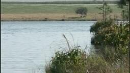 Engenheiros fazem vistoria em barragem com risco de rompimento em Iaras