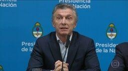 Vitória esmagadora da oposição na Argentina provoca turbulência nos mercados