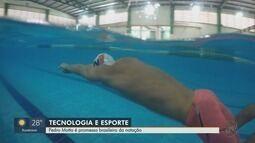 Pedro Motta é promessa brasileira de natação