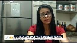 Justiça condena Enel a indenizar noiva em R$ 30 mil por falta de energia durante casamento