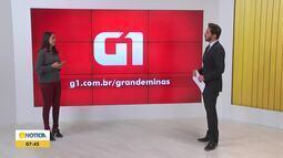 Confira os destaques do G1 nesta segunda-feira (19)