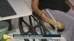 Feirão de Empregabilidade; são oferecidas vagas para pessoas com deficiência em CG