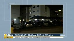 Traficantes morrem e oito são presos em ação da PM na zona Oeste de Boa Vista