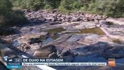 Com estiagem, rios que abastecem a Grande Florianópolis ficam abaixo do nível normal