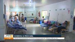 Dobrou a procura: Número de atendimentos no Cosme Damião passa de 180 para 380 por dia