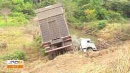 Três acidentes de trânsito são registrados em Ariquemes em menos de 24h