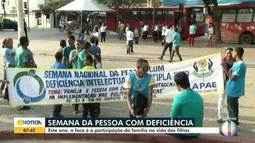 Semana da Pessoa com Deficiência é realizada em Montes Claros