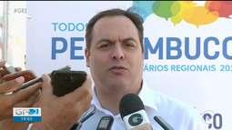 Governador de Pernambuco cumpriu agenda hoje em Petrolina