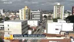 Festival de Inverno Bahia aquece a economia de Vitória da Conquista
