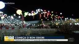 Festival Bon Odori espera receber 8 mil pessoas, em Goiânia