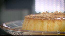 Aprenda como fazer receita de pudim com pasta de amendoim e paçoca triturada