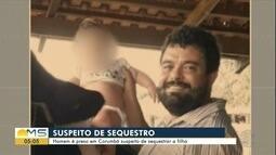 Homem é preso suspeito de sequestrar a filha de 1 ano em Corumbá