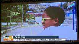 Cine Ema: 5º Festival de Cinema Ambiental e Sustentável continua em Burarama, ES