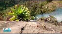 Incêndios atingem áreas de vegetação nos municípios da região serrana