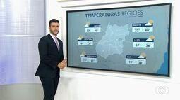 Goiânia tem possibilidade de chuva para o próximo dia 25