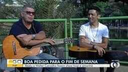 Xexéu e Walter Carvalho fazem show em Goiânia