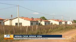 Famílias denunciam abandono de casas do Minha Casa, Minha Vida em Zé Doca